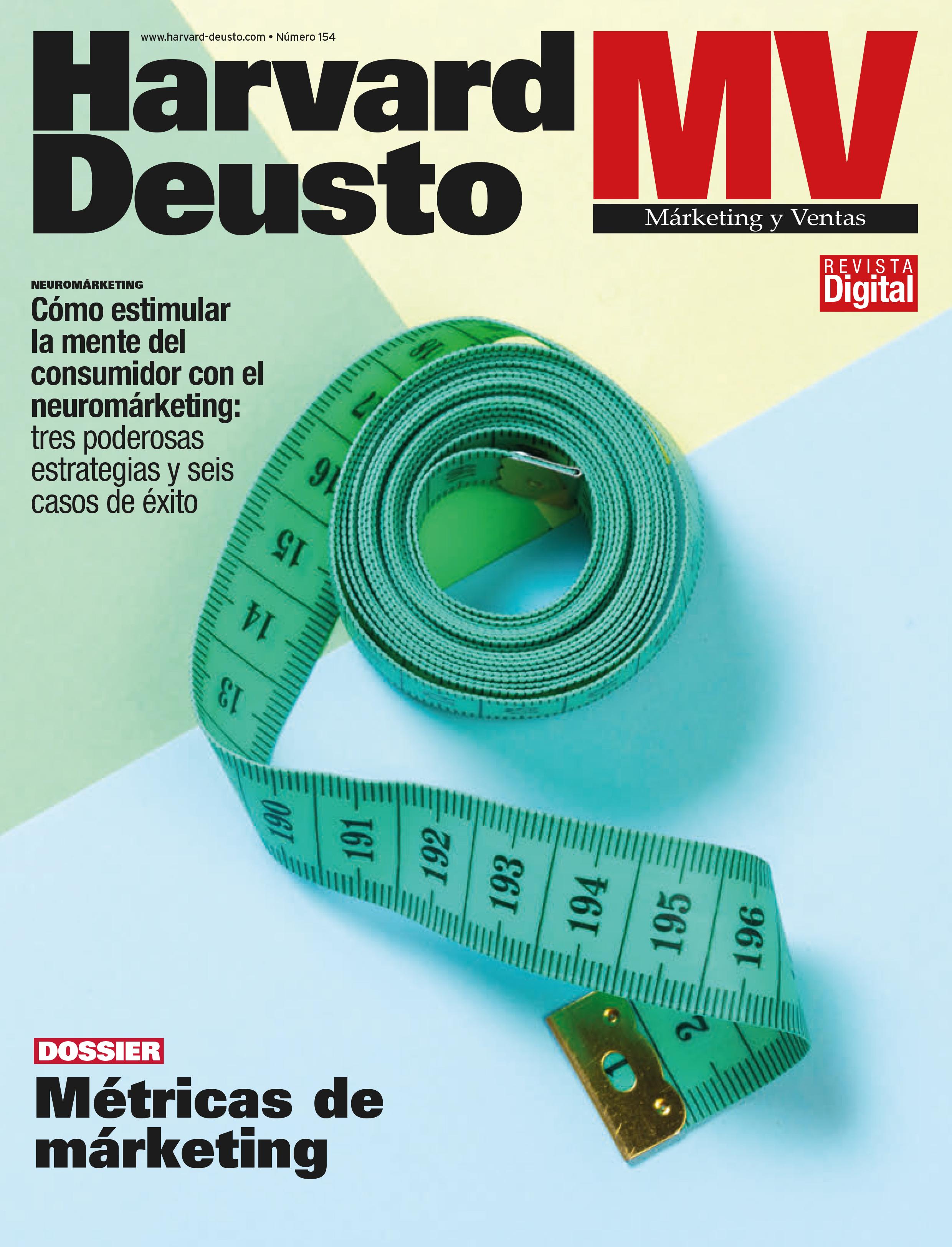 Portada última revista de Marketing y Ventas
