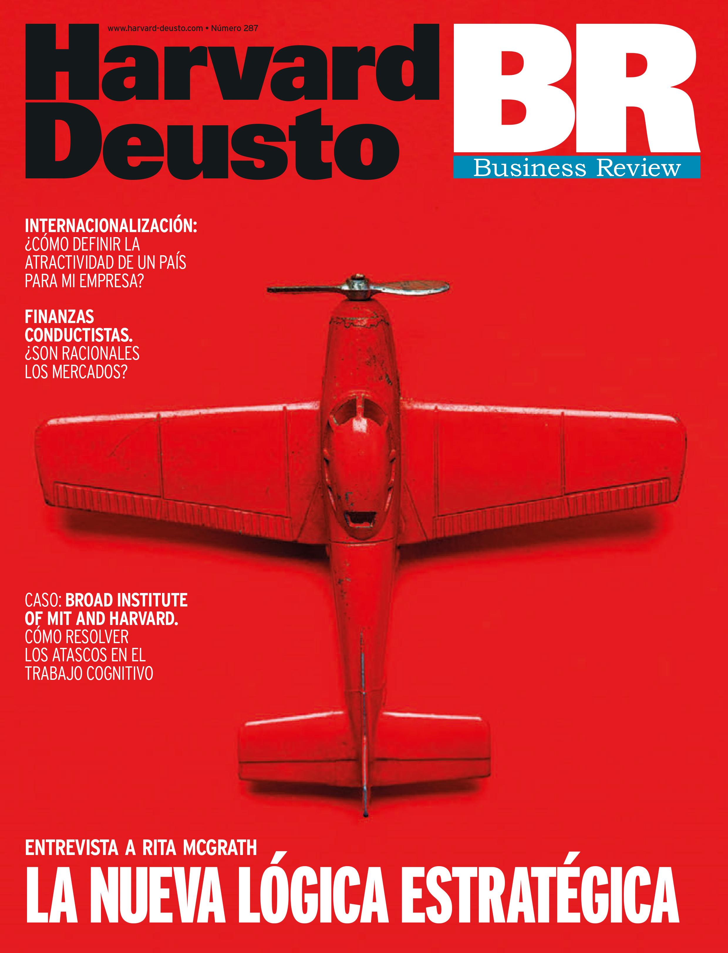 Portada última revista de Business Review