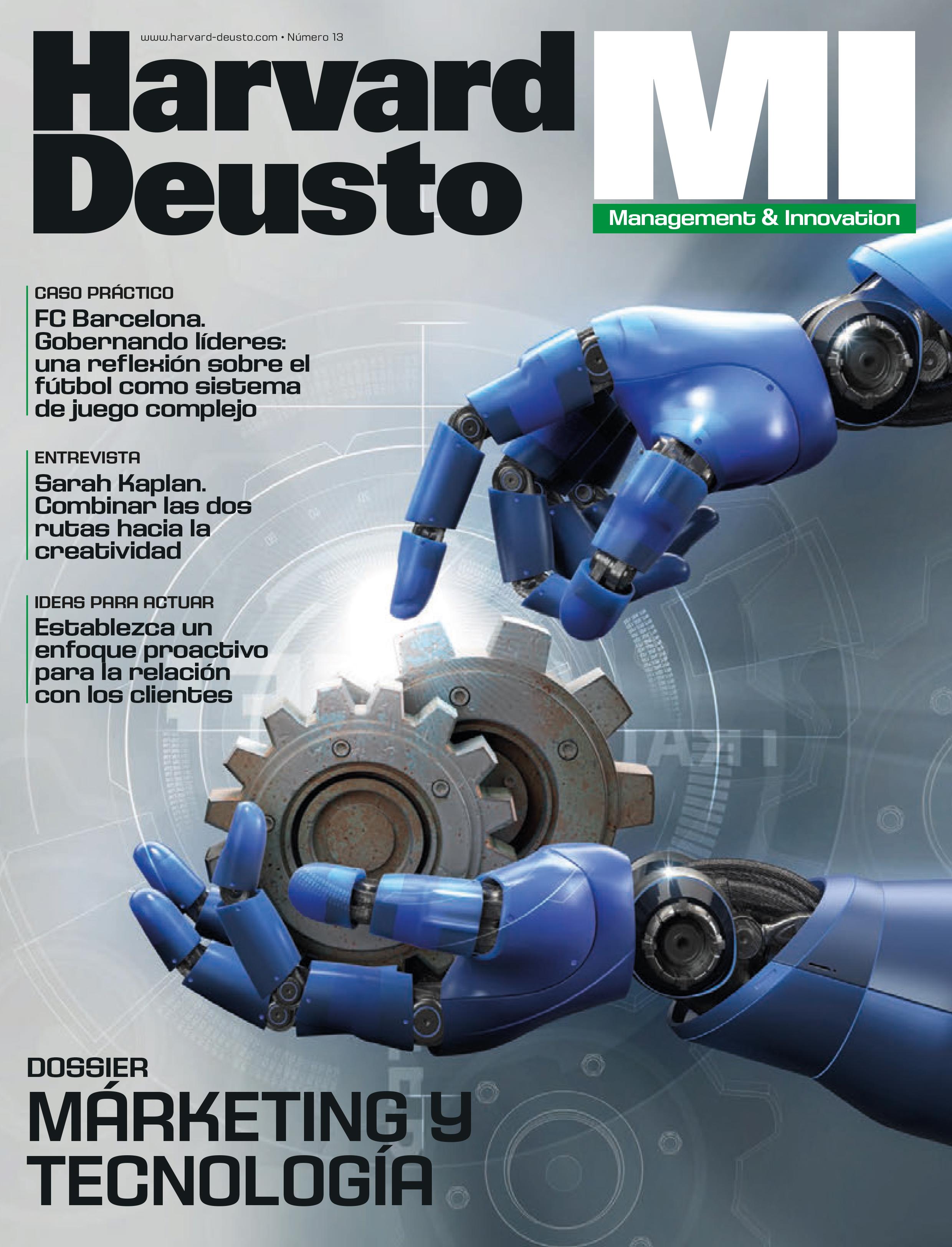 Portada última revista de Management & Innovation