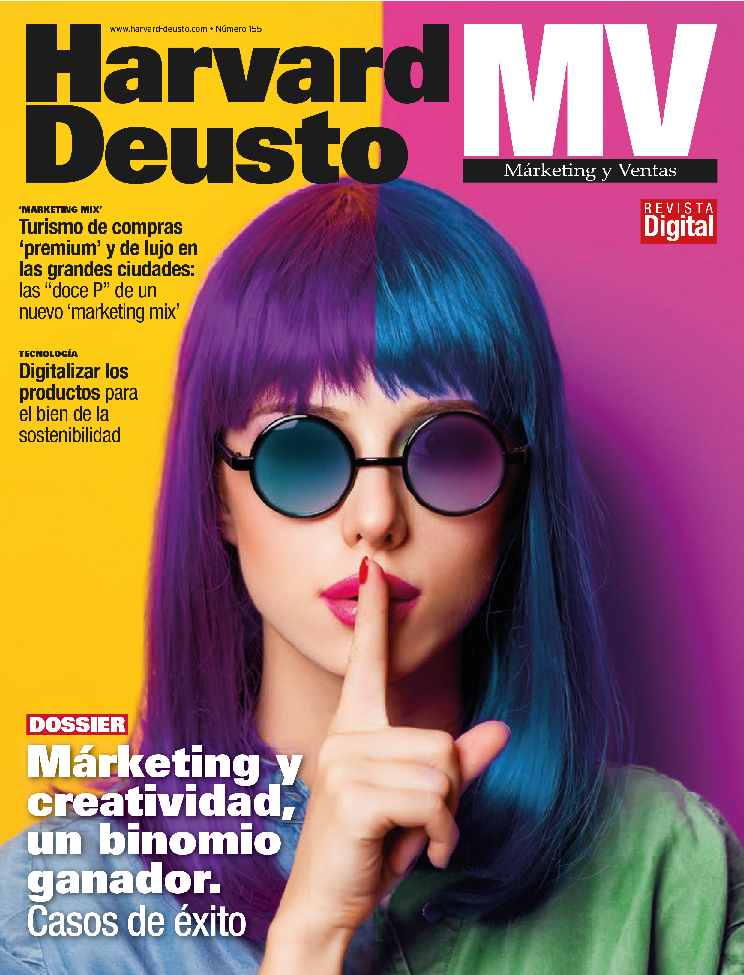 Portada última revista de Marketing y Ventas