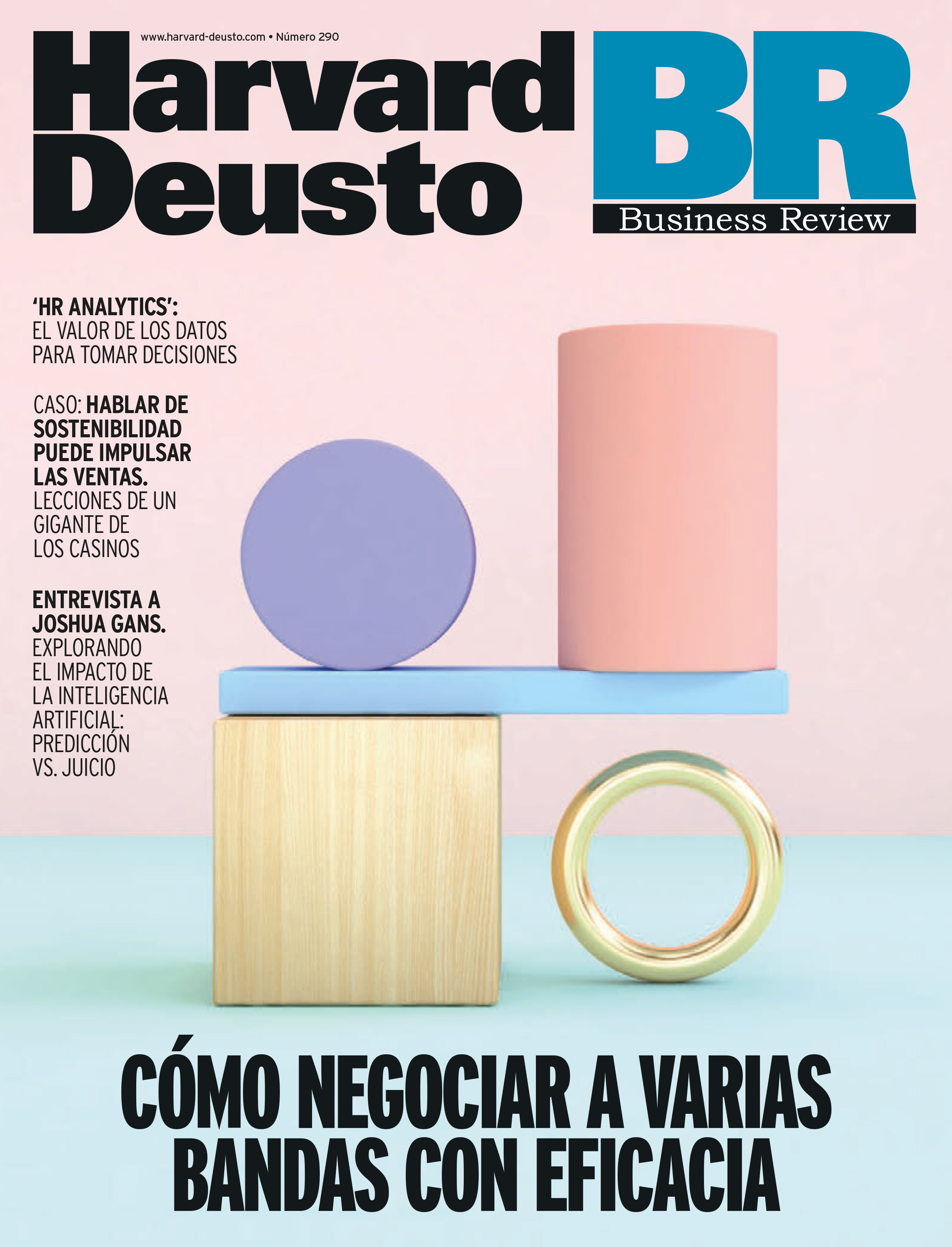 Portada última revista de Business Review